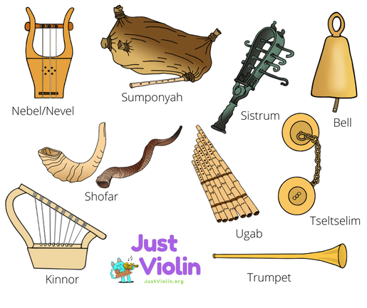 hebrew music instruments